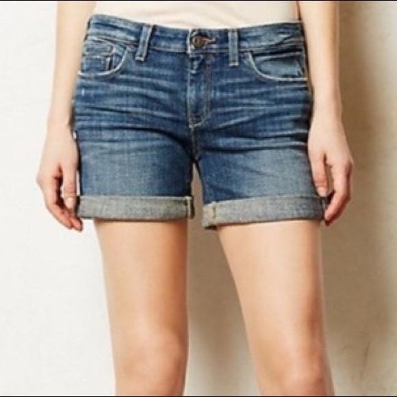 Anthropologie Pants - Anthropologie Pilcro Stet Denim Shorts | 29